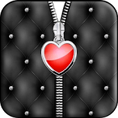 Heart Zipper Screen Lock