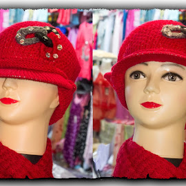 Amman by Francesca Riggio - Artistic Objects Clothing & Accessories ( amman, red, jordan, cap, accessories )