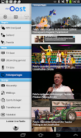Screenshot of RTV Oost Tablet app