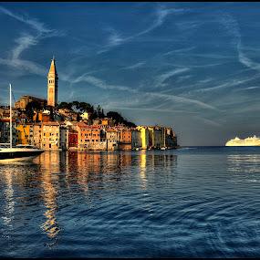 Rovinj, Croatia by Petar Tudja - City,  Street & Park  Vistas ( croatia, rovinj,  )