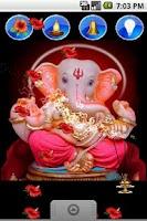 Screenshot of Ganpati Ganesh Live Wallpaper
