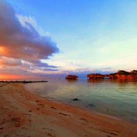 by Fentee  Affandy - Landscapes Sunsets & Sunrises ( sunset, islands, beach, landscapes )