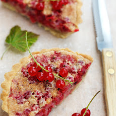 Red Currant Almond Tart