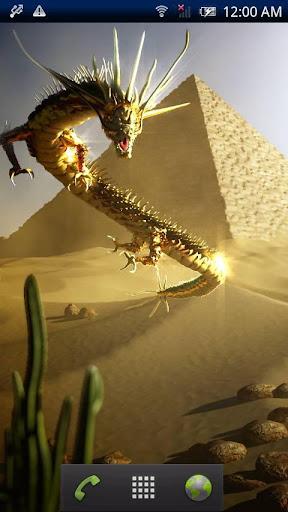 Gold Dragon Pyramid