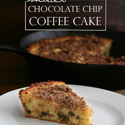 Skillet Chocolate Chip Coffee Cake