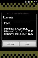 Screenshot of Taxi in Lithuania