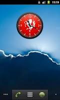 Screenshot of FC Twente Analoge Clock Widget