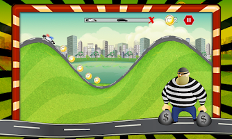 Screenshot of Grand Theft Chase: Drag Race
