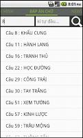 Screenshot of 2380 Dap An Bat Chu - Hinh Anh