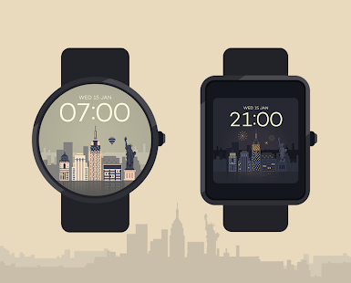 NewYork watchface by Sol Screenshot