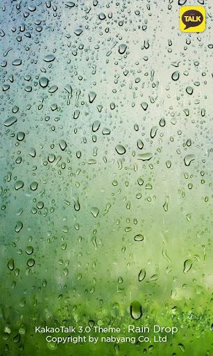 KakaoTalk 3.0 Theme : RainDrop