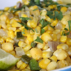 Southwestern Corn and Hominy Saute (Ww Core)