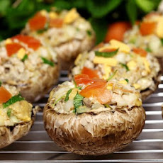 Stuffed Baby Portobello Mushrooms