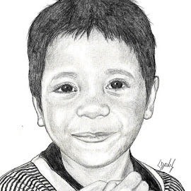 Marshallese Boy 2 by Lew Davis - Drawing All Drawing ( sketch, male, children, pencil drawings, youth, lew davis, portrait, drawing, kid, pencil, child, marshallese boy, drawings, boys, marshallese, pencil drawing, sketches, portraits, boy )