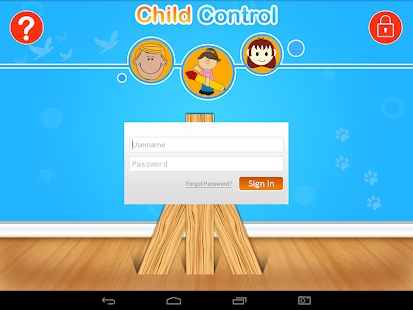 Child Control - screenshot