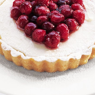White Chocolate And Cranberry Tarts