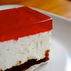 No Bake Light Jello Cheesecake