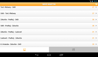 Screenshot of MHD Martin