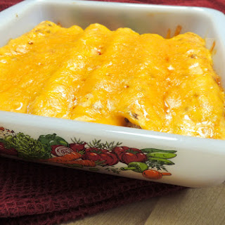 Saddle Up Chicken Enchiladas