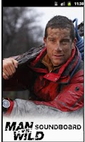 Screenshot of Bear Grylls Soundboard