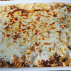 All Things Green – Vegetable and Mozzarella Baked Fusilli