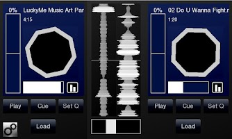 Screenshot of DJPad Free Turntable DJ Mixer