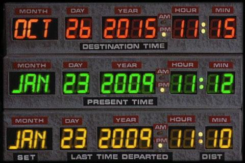 DeLorean Time Circuit GPS