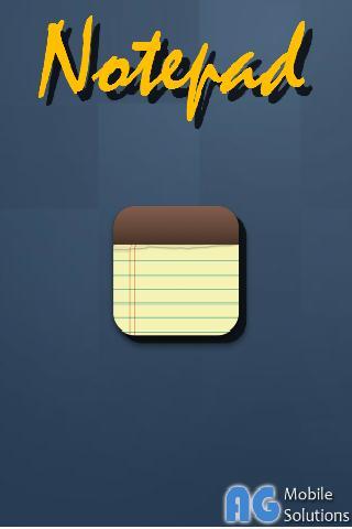 AG Notepad