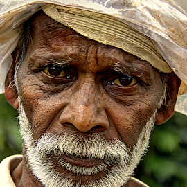 Angry Young Man by Shrikrishna Bhat - People Portraits of Men