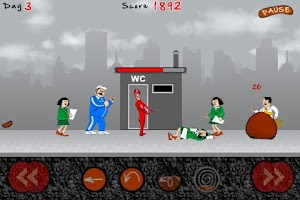 Screenshot of Toilet Defense