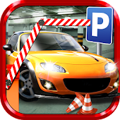 Multi Level Car Parking Games Icon