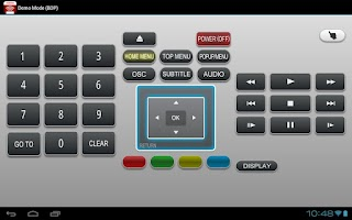Screenshot of Toshiba Remote