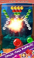 Screenshot of Bubble Wizard Dash