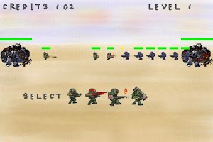 Screenshot of War Battle