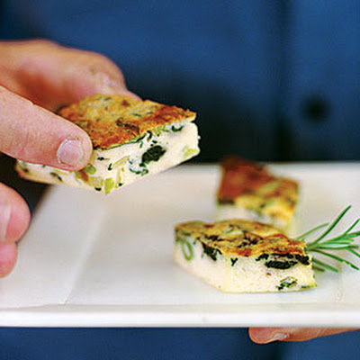 Spinach and Leek Frittata