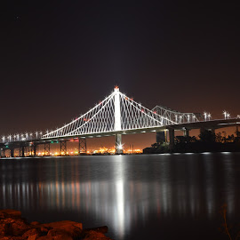 Bay Bridge  by Mario Wassef - Buildings & Architecture Bridges & Suspended Structures