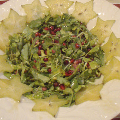 Watercress and Pomegranate Salad