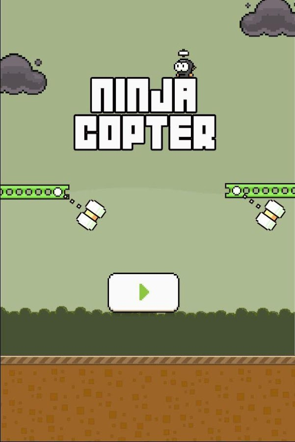 Ninja Copter Screenshot
