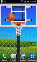 Screenshot of Basketball FREE LIVE WALLPAPER
