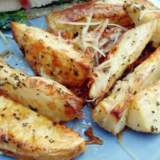 Baked Italian Potato Wedges