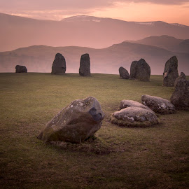 Castlerigg, stone circle by Lee Sutton - Landscapes Mountains & Hills
