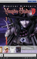 Screenshot of Vampire Hunter D Store