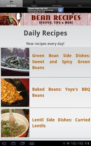 Bean Recipes