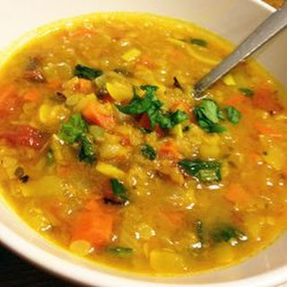 Hearty Lentil Vegetable Soup