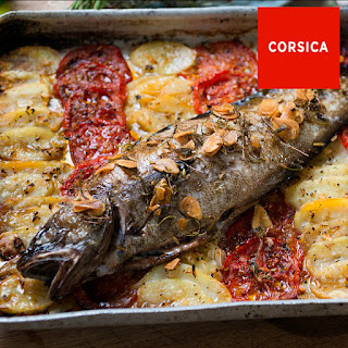 Roasted Fish With Aromatic Olive Oil