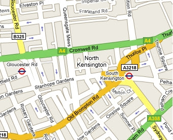 North Kensington Misplaced on Google Maps  Life and Opinions