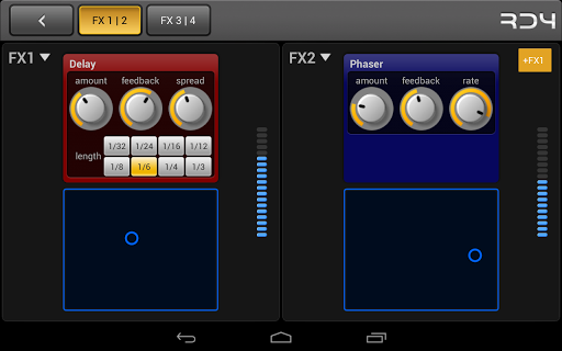 RD4 Groovebox - screenshot