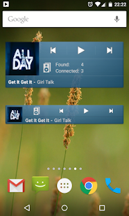 SoundSeeder Music Player Screenshot