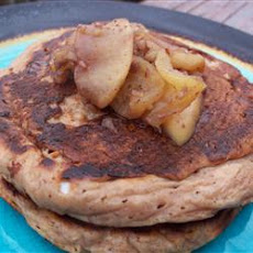 Oatmeal and Applesauce Pancakes