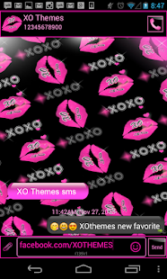 XOXO Dark Complete 4 Themes - screenshot